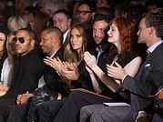 Mercedes-benz Fashion Week Show Art - Lenny Kravitz, Jennifer Lopez, Bradley by Everett