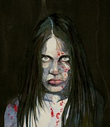 Graphic Novel Paintings - Lenore Recreated by Ray Agius