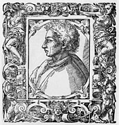 1400s Prints - Leon Battista Alberti, Italian Polymath Print by Middle Temple Library