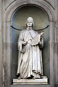 Vitruvius Photo Posters - Leon Batttista Alberti Poster by Sheila Terry