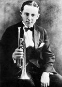Tuxedo Metal Prints - (leon) Bix Beiderbecke Metal Print by Granger