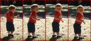 Little Boy Acrylic Prints - Leon Riley Acrylic Print by Mandy Shupp