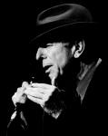 Leonard Cohen Framed Prints - Leonard Cohen Framed Print by Mathieu L