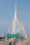 Zakim Bridge Photos - Leonard P. Zakim Bunker Hill Bridge I by Clarence Holmes