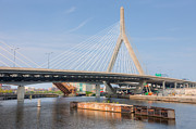 Zakim Bridge Photos - Leonard P. Zakim Bunker Hill Bridge II by Clarence Holmes