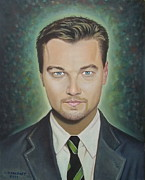 Romeo And Juliet Paintings - Leonardo Dicaprio by Crilll Cracraft