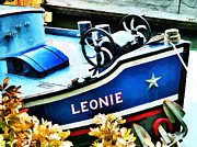 Catherine Wheel Prints - Leonie the Dutch Barge Print by Steve Taylor