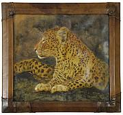 Artwork Reliefs - Leopard by Akif Senoglu