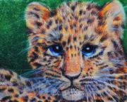 Cute Kitten Originals - Leopard Cub by Jai Johnson