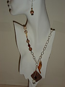 Skin Jewelry - Leopard Skin Jasper  by Kenalea Johnson
