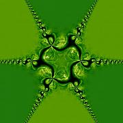 Fractal Patterns - Leprechaun Paradise by Edan Chapman