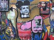 Obama Mixed Media - Les 4 chevaliers de lapocalypse by Martin Cournoyer