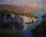 R W Goetting - Les Calanques at dusk