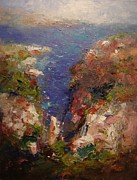 R W Goetting - Les Calanques in bright...
