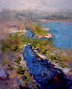 R W Goetting - Les Calanques in morning