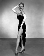 Slit Framed Prints - Les Girls, Mitzi Gaynor, 1957 Framed Print by Everett