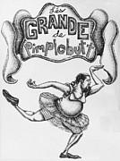 Les Grande De Pimplebutt Print by Mack Galixtar