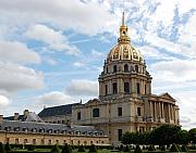 Invalides Framed Prints - Les Invalides Paris Framed Print by Marion McCristall