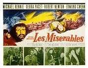 Les Miserables, Michael Rennie, Debra Print by Everett