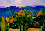 South Of France Painting Originals - Les sombres dapres midi by Rusty Woodward Gladdish