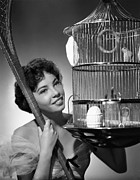 Birdcage Photos - Leslie Caron, 1951 by Everett