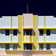 Art Deco Photos - Leslie Hotel by David Bowman