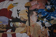 Army Paintings - Lest We Forget by Jason Turner