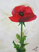 Honour Painting Posters - Lest we Forget Poster by Trilby Cole