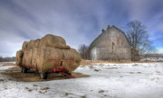 Old Barns Digital Art - Let em Roll by Lori Deiter