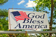 God Bless America Prints - Let Freedom Ring Print by Catherine Reusch  Daley