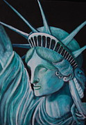 Liberty Paintings - Let Freedom Ring by Janna Columbus