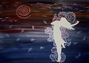 Free Paintings - Let Go by Meenakshi Malhotra