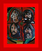 Ringo Star Acrylic Prints - Let it be Acrylic Print by Colin O neill
