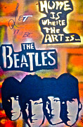 George Harrison Paintings - Let it Be by Tony B Conscious