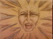 Anger Pastels - Let Me Out by Misty Moore