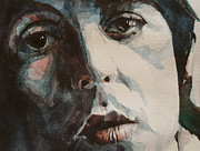 Singer Songwriter Painting Framed Prints - Let Me Roll It Framed Print by Paul Lovering