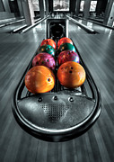 Bowling Alley Prints - Let The Good Times Roll Print by Evelina Kremsdorf