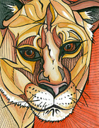 Boldness Prints - Let the Lioness Arise Print by Amber Hadden