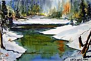 Combine Paintings - Let The Thaw Begin by Wilfred McOstrich