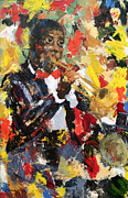 Jazz Painting Originals - Let There Be Jazz by Roseanne Marie Peters