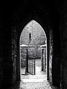 Ironwork Prints - Let There Be Light Cong Church and Abbey Cong Ireland Print by Teresa Mucha