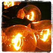 Light Bulbs Prints - Let there be light Print by Trish Hale