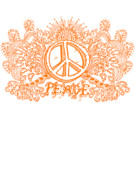 Print-on-demand Digital Art Posters - Let There Be Peace Poster by Paul Telling