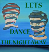 Eric Kempson Painting Prints - Lets Dance The Night Away Print by Eric Kempson