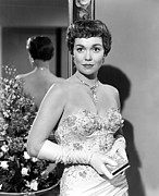 Opera Gloves Photo Prints - Lets Do It Again, Jane Wyman, 1953 Print by Everett