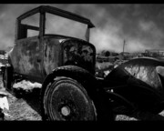 Abandoned Cars Prints - Lets Drive Print by Bryan Steffy
