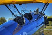 Stearman Prints - Lets Fly Print by Fred Lassmann