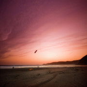 Lets Go Fly A Kite Print by Angel  Tarantella