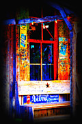 Historic Country Store Photo Prints - Lets go to Luckenbach Texas Print by Susanne Van Hulst