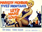 Films By George Cukor Posters - Lets Make Love, Frankie Vaughan Poster by Everett